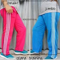 celana training panjang standar & Jumbo - Biru Muda, Standar