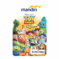 MANDIRI E-MONEY SPECIAL EDITION TOY STORY 4 COMPLETE CHARACTERS