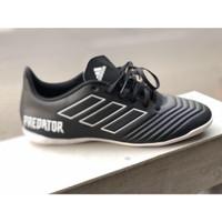 Sepatu Futsal Adidas Predator Tango 18.4 Black White DB2137 Original
