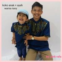 BAJU ANAK MUSLIMIN baju koko batik anak.
