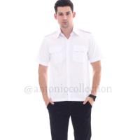 Kemeja pria / kemeja Formal pria - Baju PNS Putih , Baju PDH Putih ,
