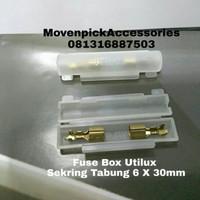 FUSE BOX SET SEKRING TABUNG UTILUX H-3376 (HARGA 1SET)