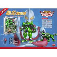 DISON DRAGON FORCE 2 X Ultraman Green Rocky Tricera