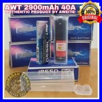AUTHENTIC AWT BLUE 18650 2900MAH 40A BATTERY BATERAI VAPE 2900 mAh