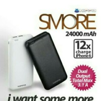 Powerbank HIPPO SMORE 24000Mah Original 100% Garansi Resmi