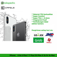 Cafele Case Iphone XS MAX XR XS X 8 8+ 7 7+ 6 6+ TPU Softcase Original