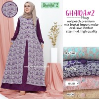MS KONDANGAN BRUKAT IMPORT MAXI POLOS GAUN GHANIA MAXI (DRESS PARTY)