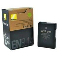 Murah !!! Bat Baterai Camera nikon EN-EL14 for D3100 / D3200 / D5100 /