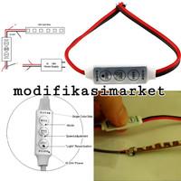 LED CONTROLLER MODUL LED 6 MODE 6 SPEED 12 VOLT INPUT DIMMER STROBO
