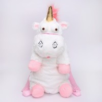 Agnes unicorn backpack tas backpack anak unicorn fluffy minion