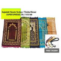 Sajadah Yassin Turkey / Turki Timbul Besar SUPER SPIEGEL Uk.110 X 68
