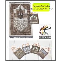Sajadah Tas Turkey /Souvenir Sajadah /Oleh Oleh Haji