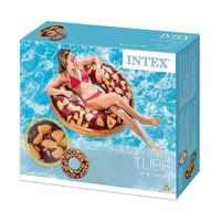Pelampung Dewasa Ban Renang Nutty Chocolate Donut Tube INTEX 56262