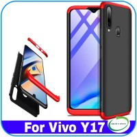 Casing Vivo Y17 Y 17 Case 360 Baby Skin Ultra Slim Hard Case Cover