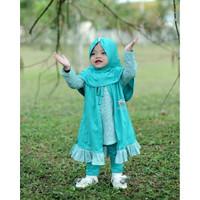 Baju Anak / Baju Gamis Anak Perempuan / Gamis Anak Olive 1-6 Tahun