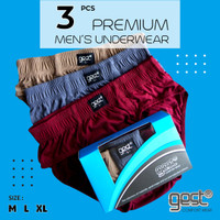 Gest Comfort Wear [3 pcs] - Celana Dalam Pria Basic - Premium Quality