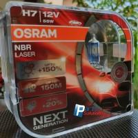 Bohlam Lampu Utama BMW X1 OSRAM H7 NBR Night Breaker LASER Next Gen