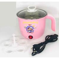 Panci listrik - cooking po - teko listrik electric pot stainless 16cm