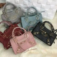 Tas Balenciaga Edge Grained Leather Baby/TAS FASHION WANITA