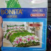 Sprei Bonita Size King 180 x 200 Motif Nancy