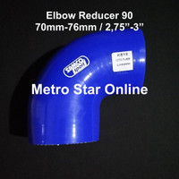 "Samco Elbow Reducer 90 / 2,75"" - 3"""
