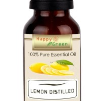 Happy Green Lemon Distilled Essential Oil 10 ml Minyak Lemon Oil LAR
