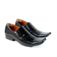 pantofel pria asli kulit Sepatu kerja formal Dan pesta