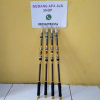 Yuelong Joran Pancing Carbon Fiber Sea Fishing Rod 2.1M/5 - Gray