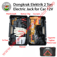 Dongkrak Mobil Elektrik - Electric Jack for Car 2 Ton Bukan Krisbow