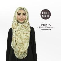 Tusong PRISIA by Luulu Scarf Jilbab Pashmina Motif Impor Paris