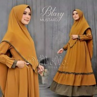 Btary Syari / Gamis Set Khimar / Setelan Hijab Murah