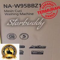 super promo Panasonic NA-W95BBZ1 mesin cuci 2tabung ~ 9kg -