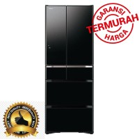 Terlaris Kulkas Hitachi R-G520GN XK GBK Japan Series 385 L RG520GN
