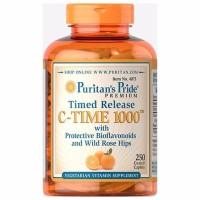Puritans Pride Vitamin C 1000 miligram with Rose Hips Timed Release