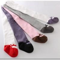 Baru C22 Legging Tutup Kaki Bayi / Anak Motif Sepatu Balet Import