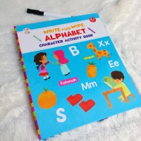 BUSYBOOK ABC - ALPHABET - WIPE AND CLEAN