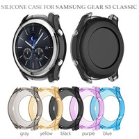SAMSUNG GEAR S3 CLASSIC Silicone Case Cover Bumper TPU Softcase