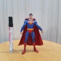 mainan action figure superman mattel tinggi sekitar 7 inch artikulasi