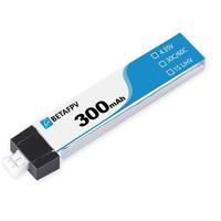 BetaFPV 1S 300mAh 30C HV Lipo Battery (1 PCS)