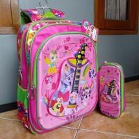 Tas ransel anak import by alto karakter sopia dan Little pony