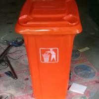 tempat sampah fiberglass sulo atau roda besar vol 120L KSc03