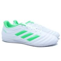 Sepatu Futsal Adidas Copa 19.4 IN - Ftwwht/Solim
