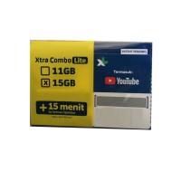 Perdana data XL 11GB COMBO LITE HYBRID 4 total 15GB