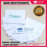 Bracket Behel Permanen amplop orthodontics Isi 10 Amplop Murah