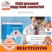 [Bt]Mainan Mesin Piggy Bank Atm Bank Menyimpan Uang Box Electronic Pas
