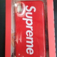 CASE / CASING SUPREME SOFTCASE GLOSSY IPHONE 10 / X / TEN RED