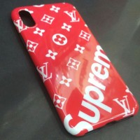 CASE / CASING SUPREME X LV GLOSSY IPHONE X / TEN