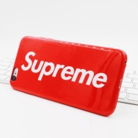 CASE / CASING SUPREME SOFTCASE GLOSSY IPHONE 8 RED