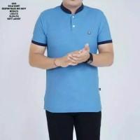 kaos polo shirt pria lengan pedek casual