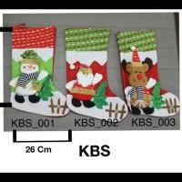 Best Pirice!!! Ornamen Pohon Natal, Kaus Kaki Natal Besar Berkualitas